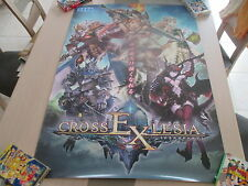 SHINING FORCE CROSS EXLESIA SEGA ARCADE B1 SIZE OFFICIAL POSTER!