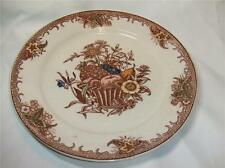 "2 Vintage Cheltenham Japan Dinner Plates ""Fruit Basket"""