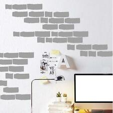 Removable Brick Stone Pattern Wallpaper Vinyl Wall Sticker Home Room Decal