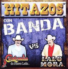 Hitazos con Banda  Cardenales de Nuevo Leon vs Lalo Mora BRAND NEW -SEALED  CD