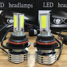 2016 90W 9000LM Kit LED Headlight 9004 HB1 9007 HB5 6000K Hi / Lo 360 Beam Bulbs