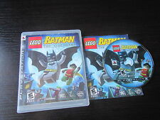Playstation 3 PS3 complete in box Lego Batman the Videogame tested