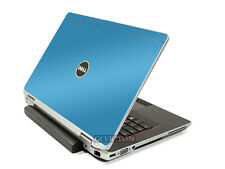 SKY BLUE Vinyl Lid Skin Cover Decal fits Dell Latitude E6320 Laptop