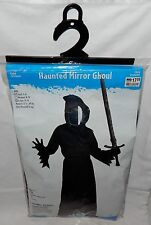 9G Halloween Costume-Haunted Mirror Ghoul Black-Child Size Small 4-6-100% Polyes