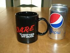 D.A.R.E. -- TO KEEP KIDS OFF DRUGS., Ceramic Coffee Cup, Vintage