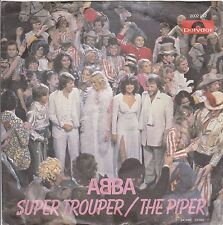 "ABBA ""Super Trouper"" & ""The Piper"" 1980 German Record (NM) Picture Sleeve (VG+)"