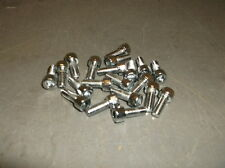 "Lot of 20 Chrome 10-32x1/2"" Long Allen Bolts for Custom Choppers - $39 NEW!!!"