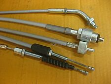 "HONDA SUPERHAWK CB72 CB77 CABLE SET 5 Pcs. ""LOW BAR"" JAPAN  (sa)"
