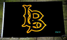 CSULB Flag Banner 3x5 ft California State University Long Beach 49ers Black