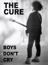 The Cure LAMINATED POSTER Boys Don't Cry 58x86cm Robert Smith English Art NEW