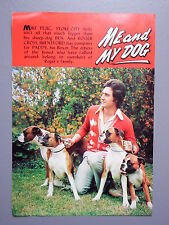R&L Ex-Mag/Book Vintage Picture Mike Pejic, Stoke City, Boxer Dogs