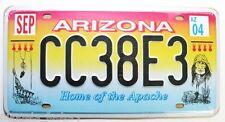 Plaque Immatriculation Arizona (  Rep - 061)