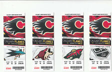 CALGARY FLAMES VS SAN JOSE SHARKS FULL TICKET STUB 3/6/13 JAROME IGINLA GOAL