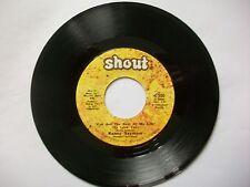 "Kenny Seymour - I've Got The Rest Of My Life - Shout - 7"" Vinyl-  Northern Soul"