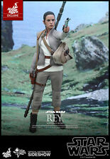 "Hot Toys Star Wars The Force Awakens REY RESISTANCE OUTFIT 12""  Figure 1/6 Scale"