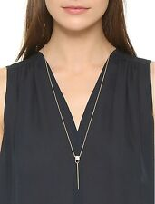 Aexis Bittar Geometric Drop Spike Pendant Necklace with Howlite $147