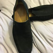 *Russell Bromley mens black Suede shoes size 44.5 Or 10.5uk RRP£255*