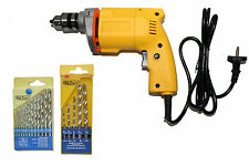 EXTRAFAST 10MM POWERFUL DRILL MACHINE WITH 18 PCS DRILL BIT SET