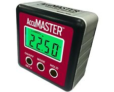 Calculated Industries AccuMASTER 2-in-1 Digital Angle Gauge 7434