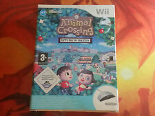 ANIMAL CROSSING LET'S GO TO THE CITY NINTENDO WII WIIU SHIPPING 24/48H