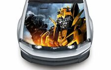 High quality hood wrap vinyl decal (suitable for any car) Transformers