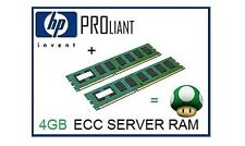 4GB (2x2GB) ECC Memory Ram Upgrade for the HP Proliant ML310 G5/G5p Server