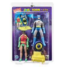 DC Comics Retro Mego Style 8 Inch Action Figures Batman & Robin Two-Pack