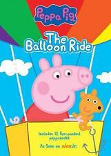 NEW!! Peppa Pig: The Balloon Ride (DVD, 2014)