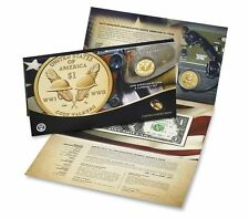2016 S American $1 Coin and Currency Set Code Talkers Enhanced $1 Coin & $1 Note