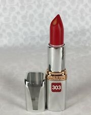 NEW L'Oreal Colour Riche Anti-Aging Serum Lipcolour Lipstick in Royal Red 303