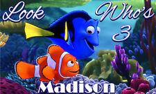 Finding Nemo Dory custom TSHIRT Personalize Birthday party gift