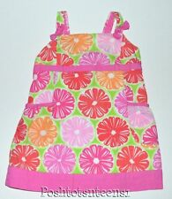 Lilly Pulitzer 4t Tunic Dress Juice Stand Fruit Slice Girls  kg1