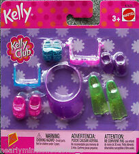 BARBIE ~ KELLY CLUB SHOES  For KELLY OR FRIENDS ~ SUMMER POOL BEACH FUN SET NEW!