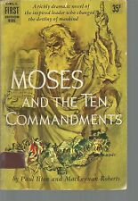 Moses and the Ten Commandments Paul Ilton and MacLennan Roberts PB 1956