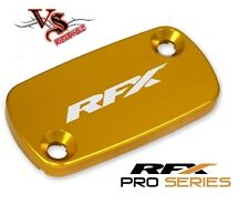 RFX Front Brake Reservoir Cover Cap HONDA CRF450 02-14 CRF250X 04-14  GOLD