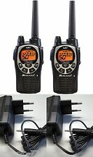 2 WALKIE TALKIE MIDLAND GXT1000 5W CON CARGADORES INDIVIDUALES - PACK ESPECIAL