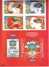 match attax 2010 world cup squad box plus 4 cards.