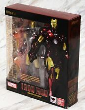 Bandai SH Figuarts Marvel Iron Man Mark 3 III S.H. Figure Authentic USA Seller