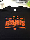 T-shirt SF GIANTS 2014 WORLD CHAMPIONS 3XL-Med San Francisco series orange pink