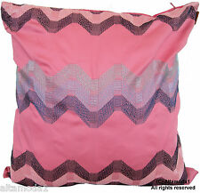 MISSONI HOME EMBROIDERED PILLOW BAG FODERA RICAMATA 100% COTONE HILLY 253  DF