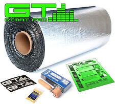 NEW 10sqft GTmat 50mil Automotive Sound Deadener plus Genuine Dynamat Roller