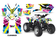 Polaris Outlaw 50 AMR Racing Graphic Kit Wrap Quad Decal ATV All Years FLASHBACK