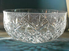 Hand Cut Leaded Crystal Serving Salad Centerpiece Bowl by Atlantis