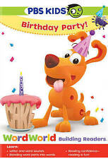 WordWorld: Birthday Party (DVD, 2015)