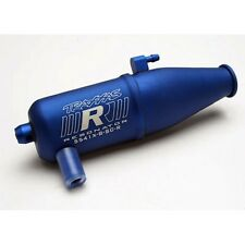 Traxxas 5541X Blue Resonator Tuned Pipe: Nitro 4-Tec 3.3 & 2.5