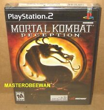 PS2 Mortal Kombat: Deception black label New Sealed (Sony PlayStation 2, 2004)