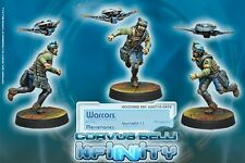 Infinity BNIB Mercenaries Warcors, War Correspondents