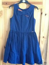 BNWT AUTOGRAPH AT M&S GIRLS BLUE PROM/PARTY/FORMAL DRESS AGE 12-13