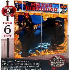 PIRATES of the CARIBBEAN GIANT SCENE SETTER DECORATION ~ Birthday Party Supplies