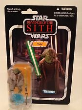 "Star Wars Vintage Collection ROTS Yoda 3.75"" Action Figure VC20 Kenner 2010 MOC"